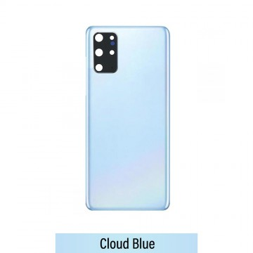 Rear Cover Glass For Samsung Galaxy S20 Plus G985F-Cloud Blue
