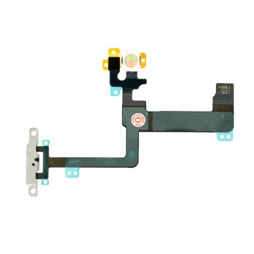 Power Button Flex Cable Replacement for iPhone 6 Plus with Brackets
