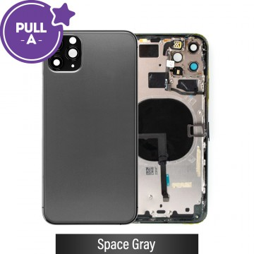 Rear Housing with Small Parts for iPhone 11 Pro Max-Space Gray