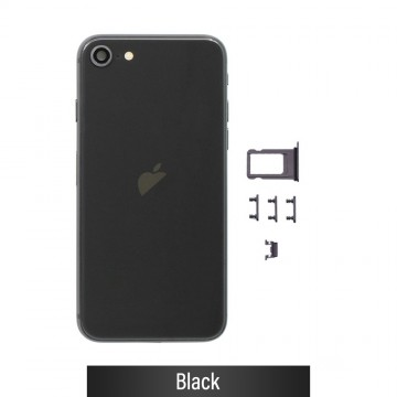 Rear Housing for iPhone SE (2020)-Black