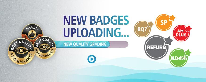 NEW BADGES AND NEW QUALITY GRADING UPDATED IN 2021
